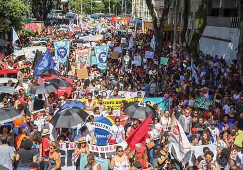 GREVE GERAL:Sexta é dia de parar o Brasil em defesa da aposentadoria, do emprego e da educação
