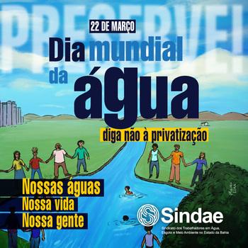 Dia Mundial da Água e a lição do coronavírus