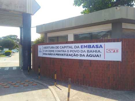 Embasa quer impor retrocessos e dificulta o fechamento do Acordo Coletivo.